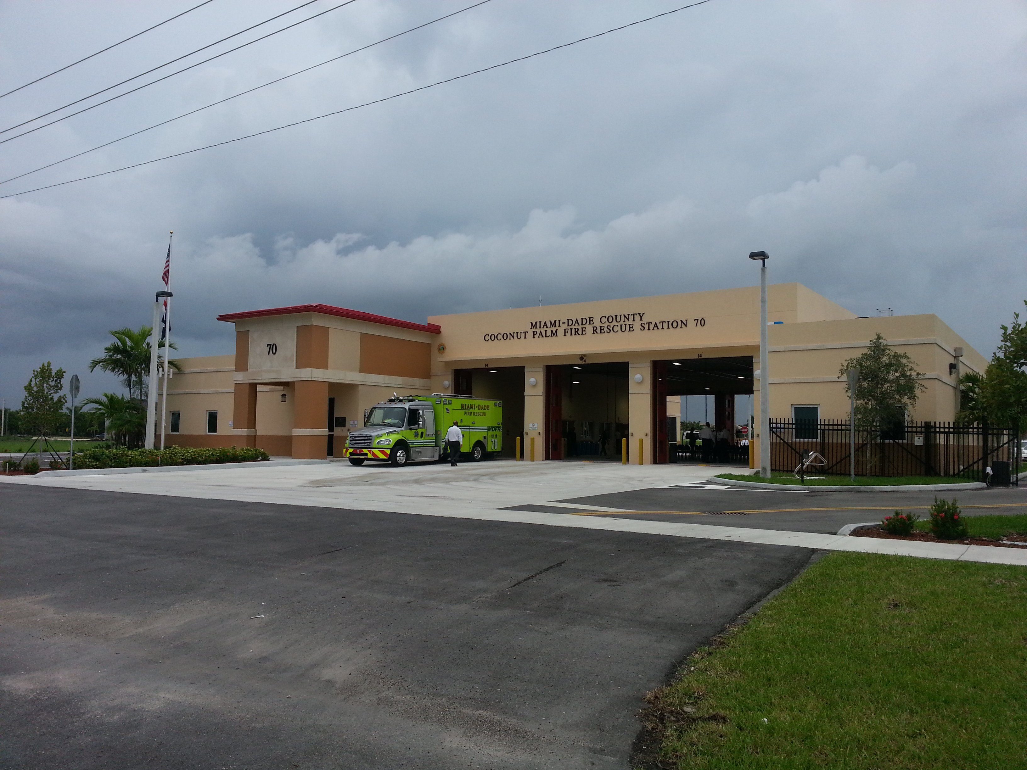 Miami-Dade County Fire & Rescue Station #70Structural Engineering DivisionHomestead, FL