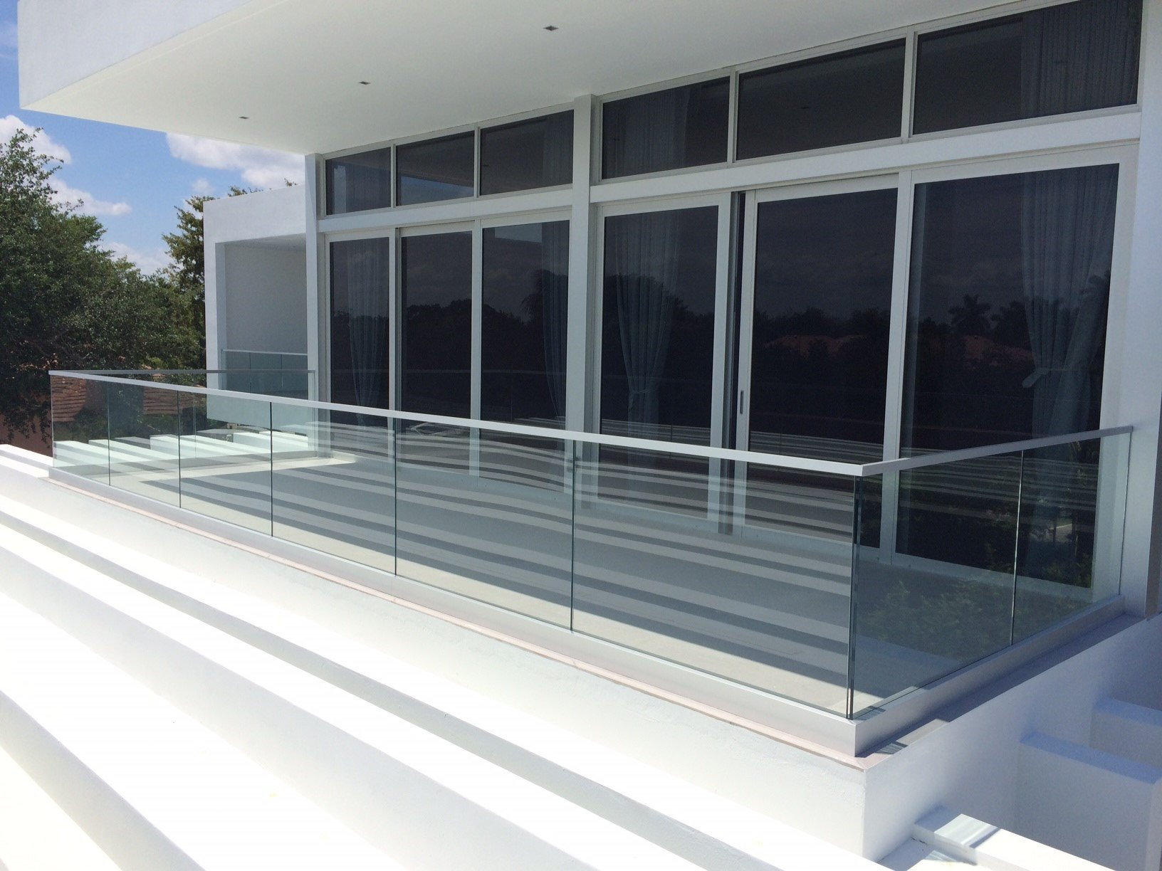 13-291 Los Pinos Circle Shop Dwgs Glass Railing Glass Railings of Miami Coral Gables 03